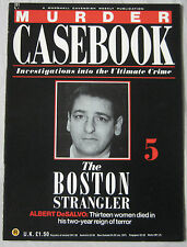 Murder Casebook Issue 5 - The Boston Strangler Albert DeSalvo