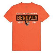 University of Buffalo State College Bengals NCAA Cotton T-Shirt - Sz S - 2XL
