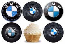BMW Zubehör Auto Essbar Muffinaufleger Tortenbild Party Deko neu Geburtstag