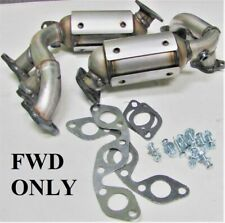 2004 2005 2006 Toyota Sienna 3.3L FWD D.S & P.S Manifold Catalytic Converter NEW