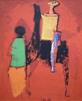 Marino Marini (1901 - 1980) - Visito e approvato - Siebdruck auf Leinwand