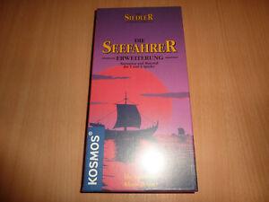 Die Seefahrer Erw. für 5+6 Spieler (KOSMOS) alte Holzedition