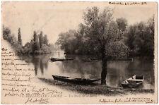 CPA 69 - BELLEVILLE SUR SAONE (Rhone) - 11. Les Bords de la Saône - Dos simple