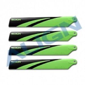 Align Trex 150X - Main Blades (Green)(2 sets) HD123CAT