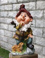 Zwerg  Design 3 33 cm Hoch  Garten Gartenzwerg Figuren Dekoration 13002 - 3
