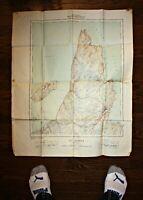 1942 NEWFOUNDLAND WARTIME MAP OF ST. JOHN'S & AREA - DEPT. OF NATIONAL DEFENCE