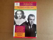 All About Eve / The Ghost and Mrs. Muir Audio, 2 Cassettes 2000
