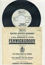Fenwick Philharmonic - Mouse on the Moon RARE Movie Theme PROMO 45 rpm Record