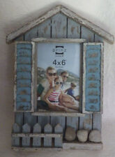 "Beach Shed Prinz Picture Frame Wooden Wood Holds 4""x6"" Picture New 11.5"" x 8.5"""