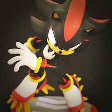 """15"""" Sonic the Hedgehog: Shadow Statue by First 4 Figures *Never Opened*"""