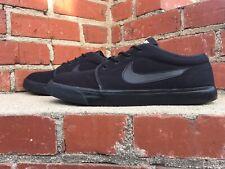Nike Toki Low TXT Black Canvas Skateboard Sneaker Men Size 13 Style 555272 015