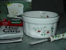 Pfaltzgraff Winterberry Dip Mix Set w/ Spreader NIB