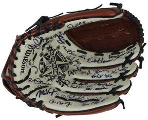 Beautiful 1995 All Star Game Signed Glove Ken Griffey Jr Kirby Puckett (28) JSA