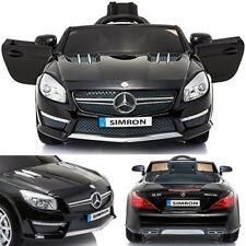 Mercedes-Benz AMG SL63 Kinderauto Kinderfahrzeug Kinder Elektroauto 2x MT 12V SW