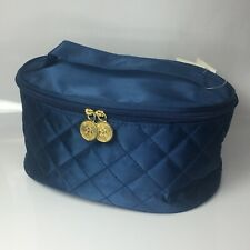 Giorgio Beverly Hills - Wings - Blue Satin Empty Toiletry Bag - Xmas Gift