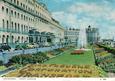 Inglaterra-East Sussex-eastbourne Carpet Gardens on the promenade - 1960