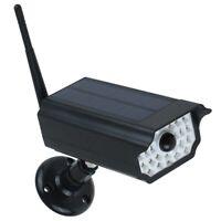 Fake Camera Solar LED Light Anti-Theft Sensitive Wall Lamp Waterproof Simulation
