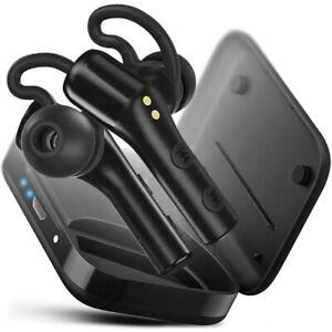 TREBLAB X5 - True Wireless Earbuds with Microphone | Bluetooth 5.0, 35H playtime