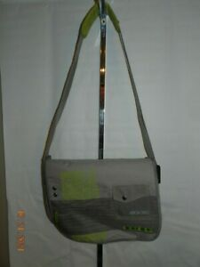 xbox 360 padded carrying case shoulder cross body strap Travel Gaming Bag gray