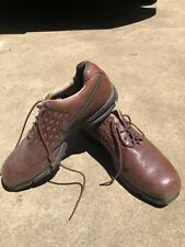 Mens Nike Limited Edition Brown Tiger Woods Sp-8 Tw Tour Collector Golf Shoes 12