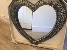 Large Shabby Chic, Antique, Heart Bedroom Hallway Living room Bathroom Mirror