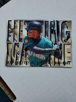Ken Griffey Jr. #6 (1995 Fleer Ultra) Hitting Machine, Seattle Mariners, HOF