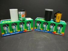 Fuji superior x-tra 35mm film expired refrigerated new 10 rolls expired 3/2004