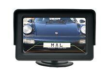 4.3 Zoll Auto Monitor Bildschirm KFZ LCD Display für Rückfahrkamera & DVD Player