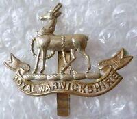 Badge- Royal Warwickshire Regiment Cap Badge