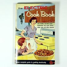 Mid Century 1960 Electric Cook Book Marguerite Fenner Advertising Littleton NH