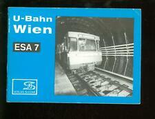 U-Bahn WIEN  ESA 7