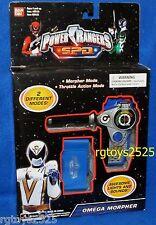 Power Rangers SPD White Omega Morpher New Lights & Sound Space Patrol Delta 2004