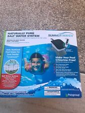 Summer Waves Naturally Pure Salt Water System BRAND NEW / SEALED!!!