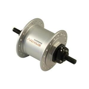 Shimano Mozzo dinamo ruota anteriore Dynamo Nexus DH-C3000-1N argento 36