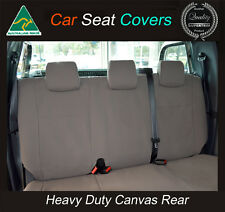 TOYOTA HILUX/RAV4/LANDCRUISER/PRADO/YARIS/COROLLA/CAMRY REAR CANVAS SEAT COVER