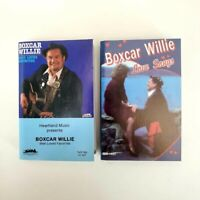 Boxcar Willie - Lot of 2 Cassettes - Best Loved Favorites - Love Songs