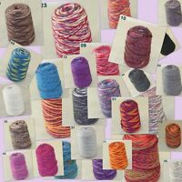 Sale New 500gr Cone Yarn Hand Knitting Colorful Chunky Wool Cashmere Knitting