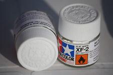 Tamiya Peinture Pot 10ml XF2 Blanc Mat