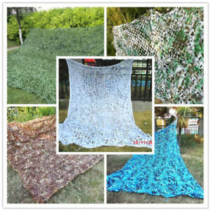 Multicolor 2X3M Jungle Military Camouflage Hunting Net Party Decoration Net