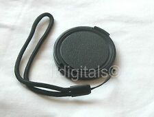 Snap-on Lens Cap For Canon Powershot SX30 IS SX30IS with Holder