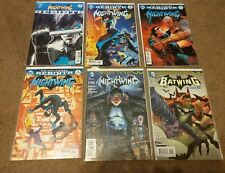 Nightwing Comic Book Lot Rebirth #1 2 3 + Robin War Games - 10 Issues Total!