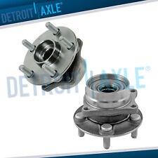Pair 2 Front Wheel Hub Amp Bearing Assembly For 2004 2007 2008 2009 Toyota Prius