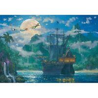 New Tenyo Disney Peter Pan 1000 Pieces Jigsaw Puzzle D-1000-416 from Japan JPN