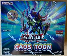 Yugioh Toon Chaos Booster Box Spanish Caos Toon Sealed 1st ed