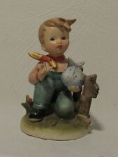 "Signed Erich Stauffer Vintage 1950s S 8517 ""Country Outing"" Porcelain Figurine"