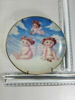 COLLECTOR'S PLATE, LOVE'S SHY GLANCE, HAMILTON COLLECTION BY KRISTIN,DREAMSICLES