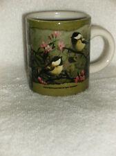 Birds Mini Coffe Mug by Cuppa
