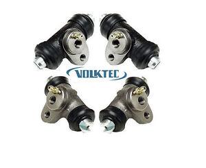 (Set x 4) Front & Rear Brake Wheel Cylinder VW Volkswagen Beetle Bug 1968 to 79