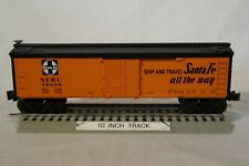 """Lionel #15050 Santa Fe """"All the Way"""" Wood Sided Reefer (O/027 Freight car) 2010"""