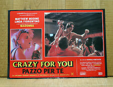 CRAZY FOR YOU fotobusta poster Vision Quest Modine Fiorentino Madonna BT49